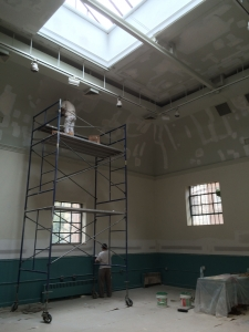 New York City Commercial Interior Plastering and Painting