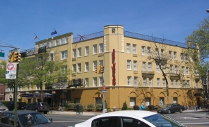 Comfort Inn - Brooklyn, NY - waterproof paint coating and stucco repairs/resurfacing